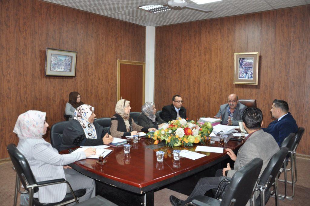 مجلس معهد الادارة التقني يعقد جلسته الاعتيادية الثالثة للعام الدراسي 2019-2020 .